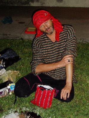 Guate – Šamanismus – šaman Bill Clemens – v Guatemale znám jako doktor Gato