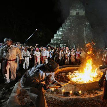 Mayan friends